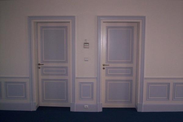 Professionnels – Peinture d'intérieur (Hôtel)