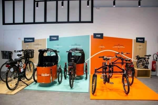 Travaux de peinture dans magasin de vélos