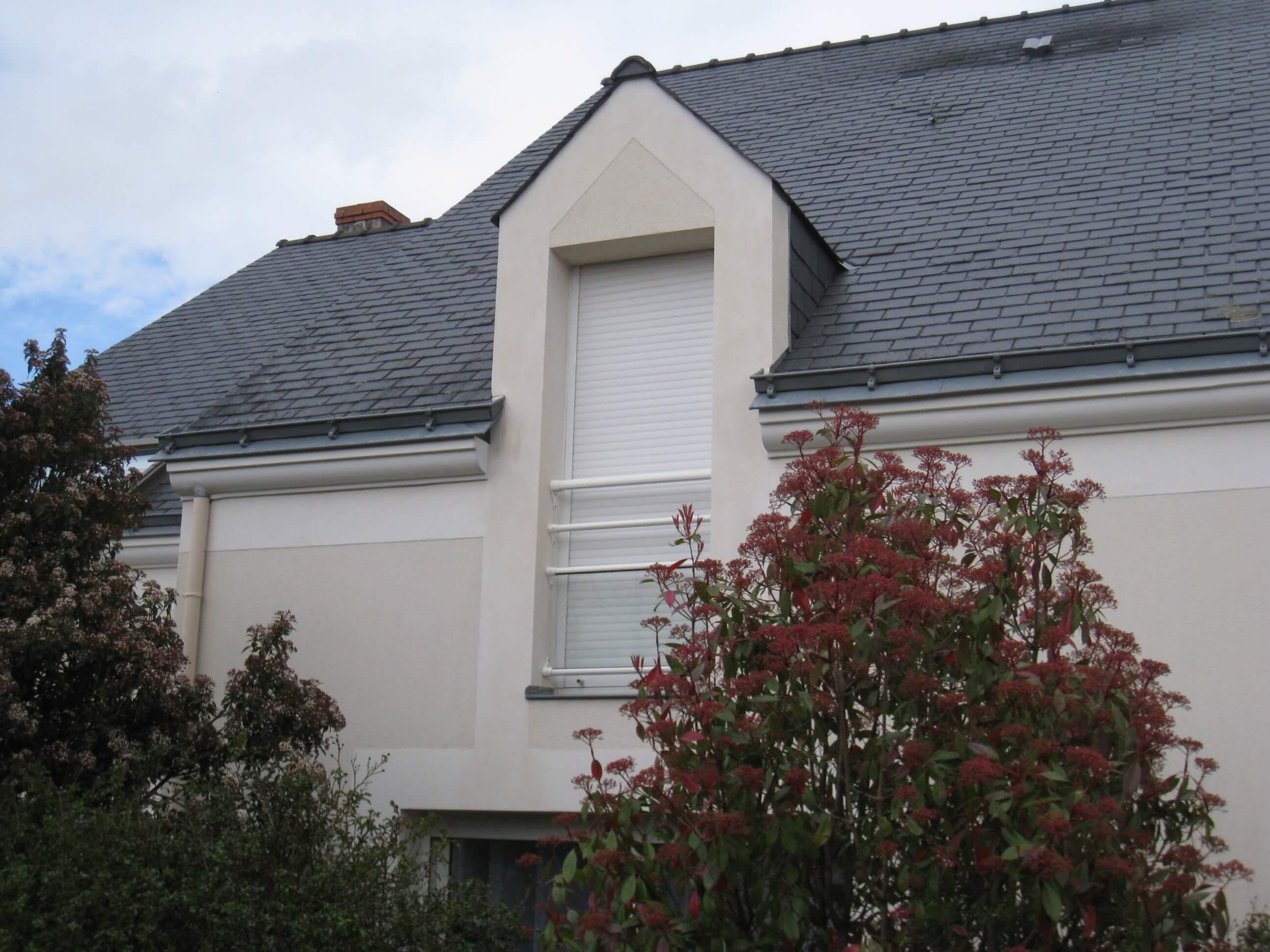 Rénovation crépis maison après