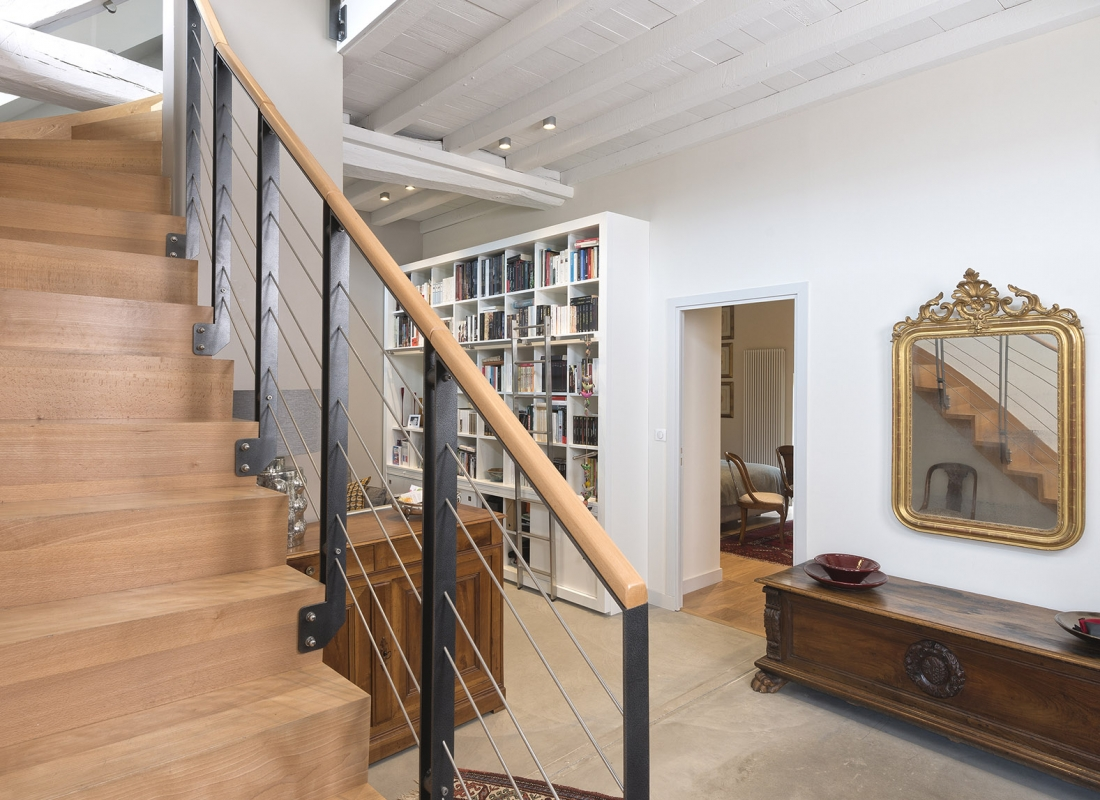 Rénovation de l'entrée et des escaliers